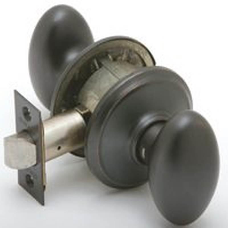 aged bronze door knobs photo - 19