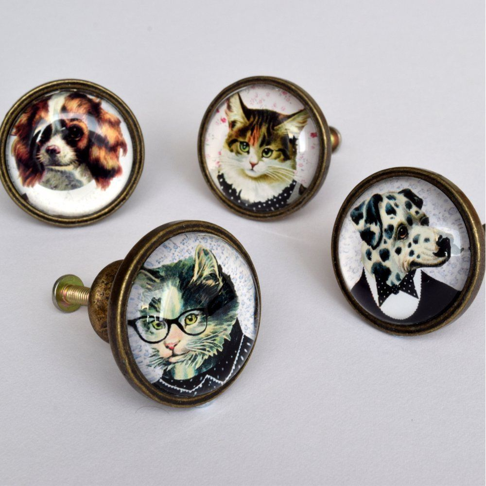 animal door knobs photo - 12