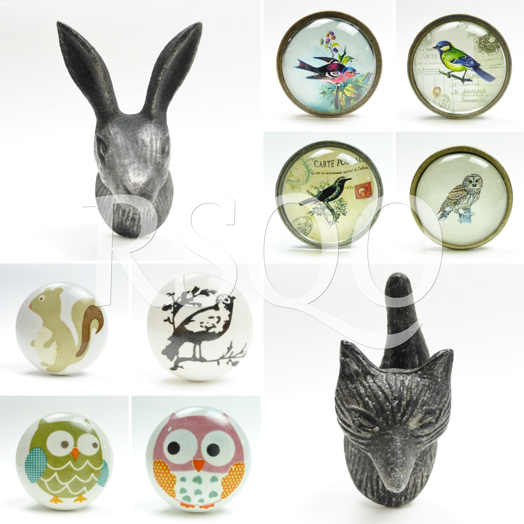 animal door knobs photo - 15