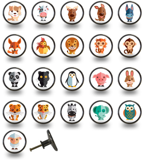 animal door knobs photo - 8