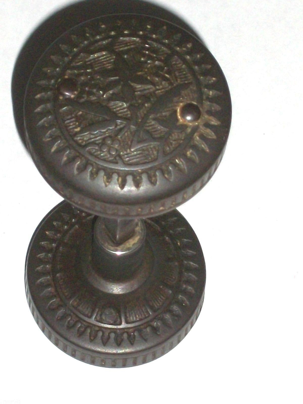 antique black door knobs photo - 15