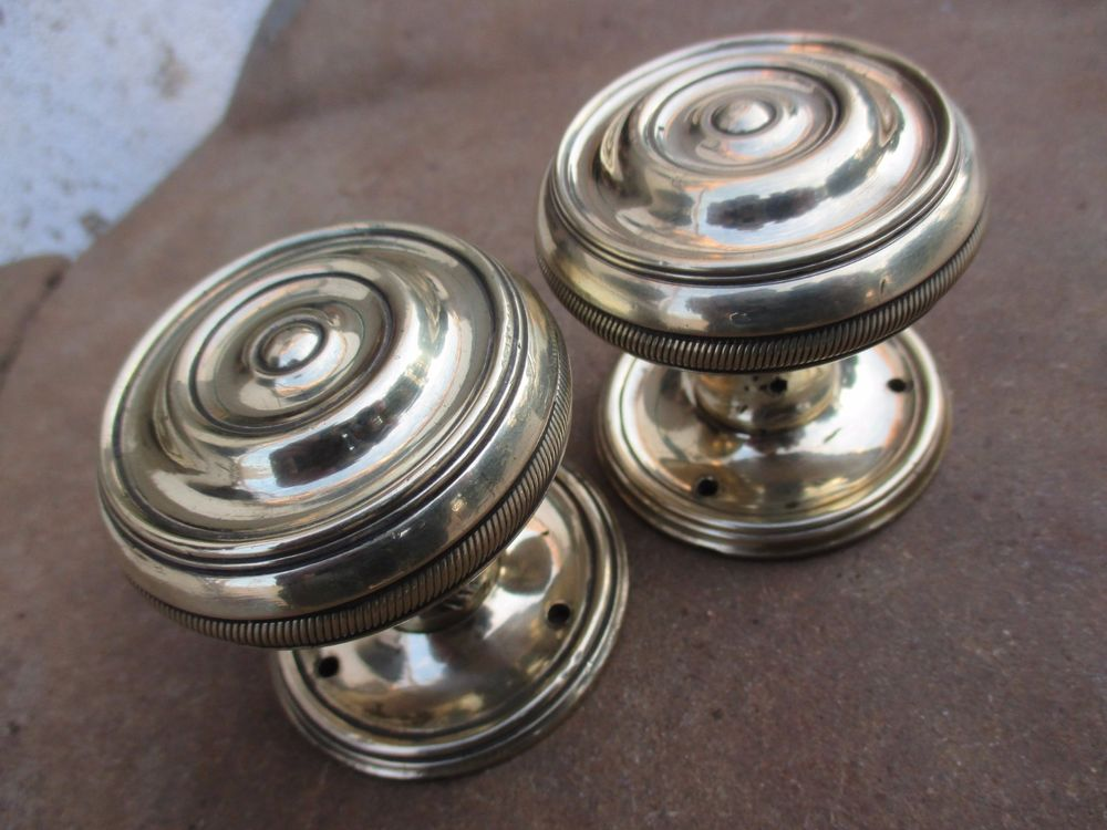 antique brass door knobs ebay photo - 12
