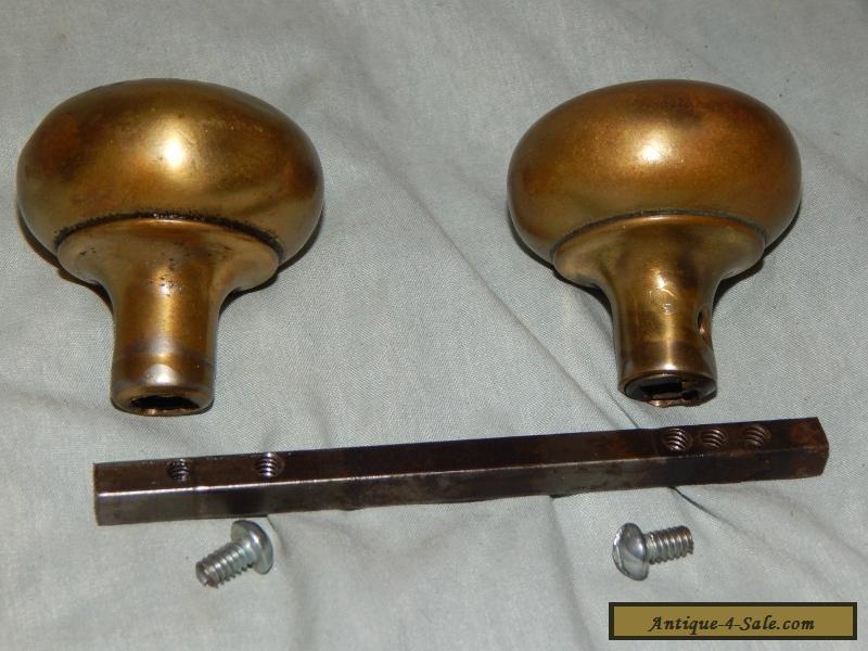 antique brass door knobs for sale photo - 13