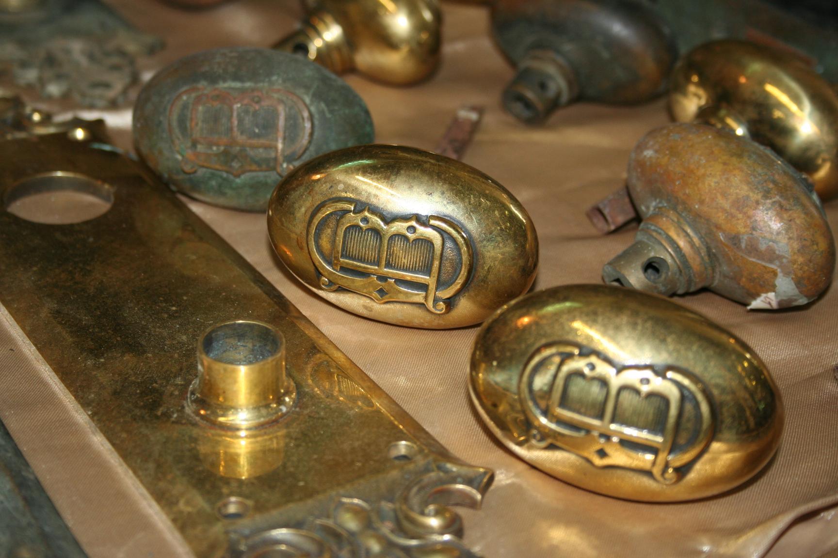 antique brass door knobs for sale photo - 20