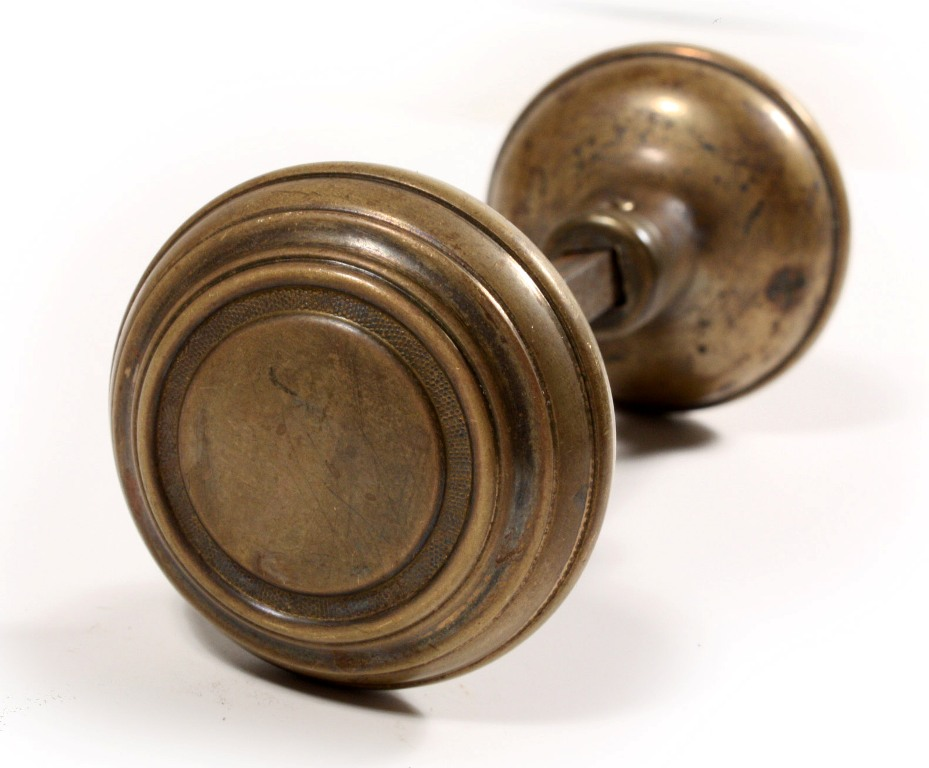 Antique Brass Door Knobs For Sale Photo   3
