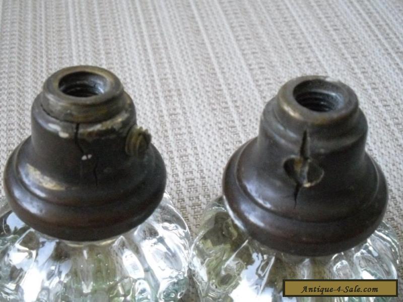 antique brass door knobs for sale photo - 5