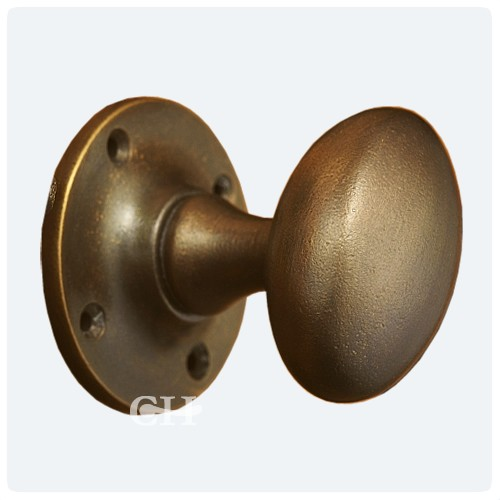 antique bronze door knobs photo - 2