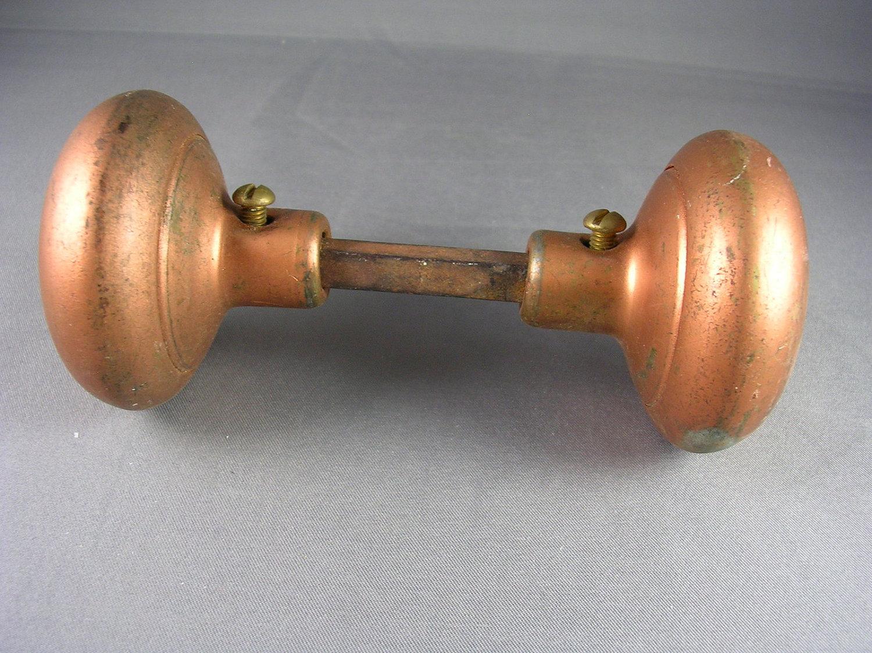 antique copper door knobs photo - 15