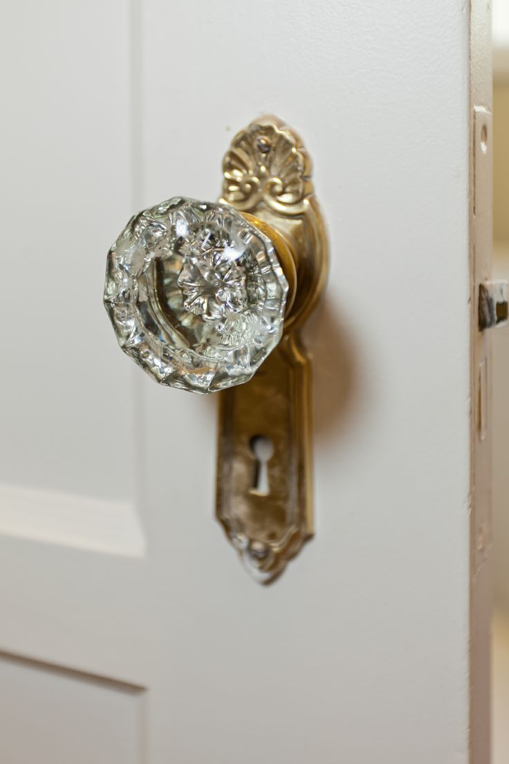 antique crystal door knobs photo - 17