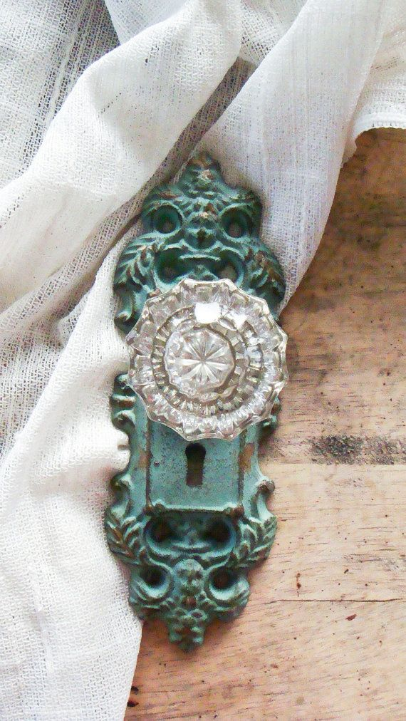antique crystal door knobs photo - 7