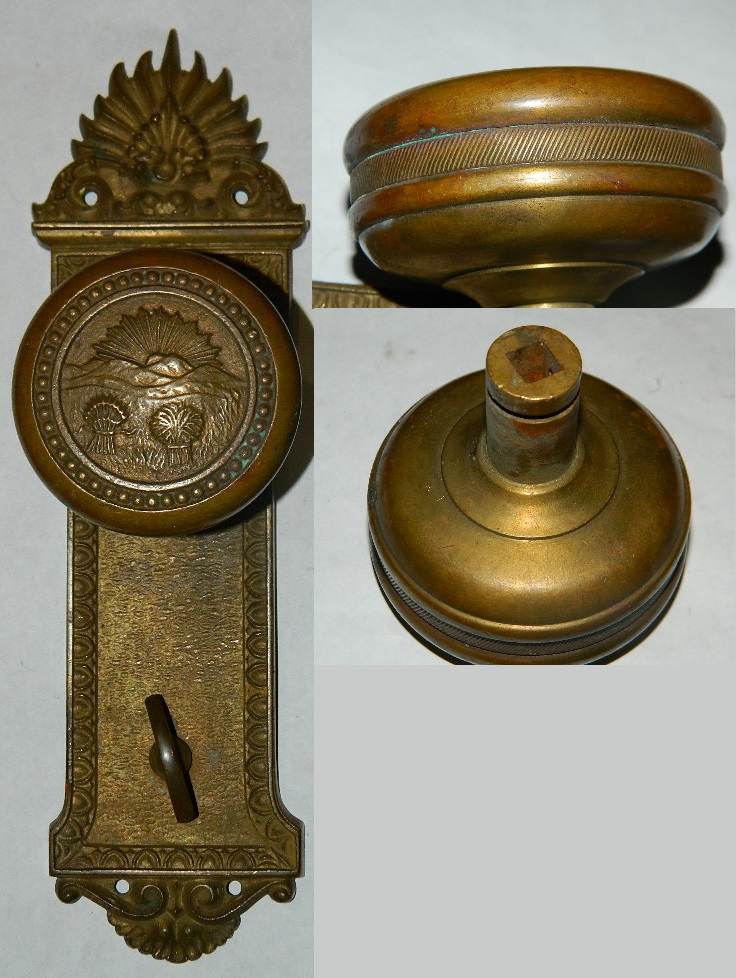 antique door knob photo - 14
