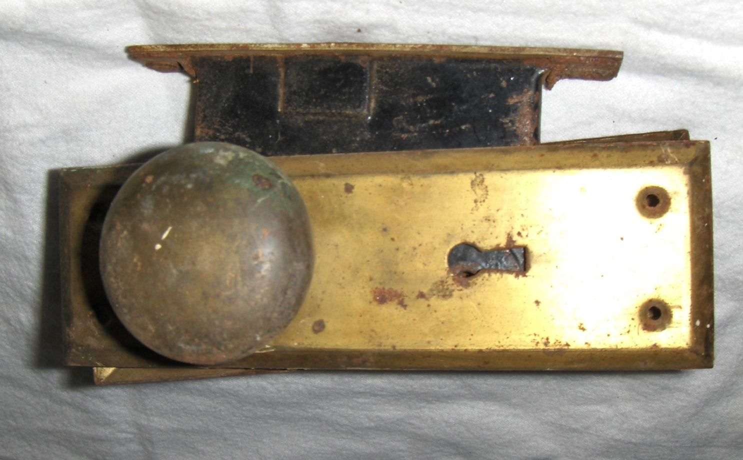 antique door knob parts photo - 10