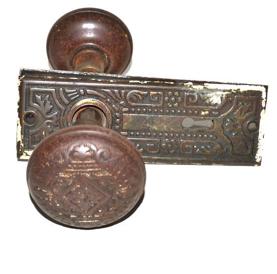 antique door knob sets photo - 5