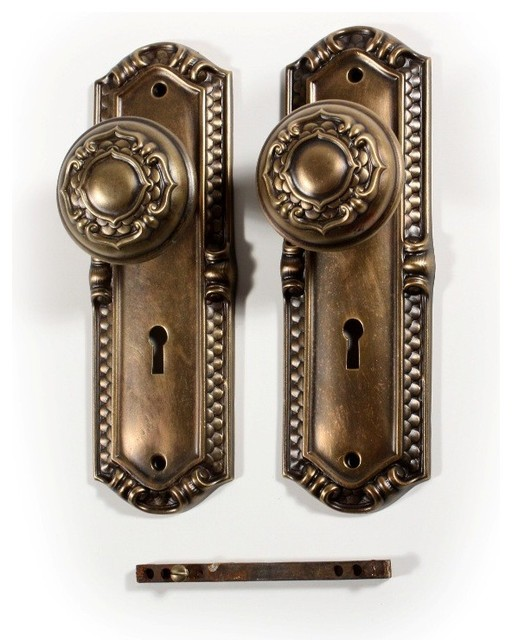 antique door knobs and hardware photo - 12