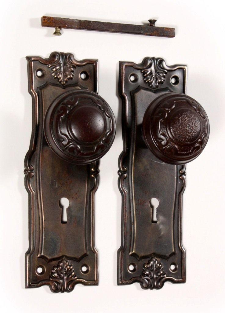 Antique Door Knobs And Plates Door Knobs