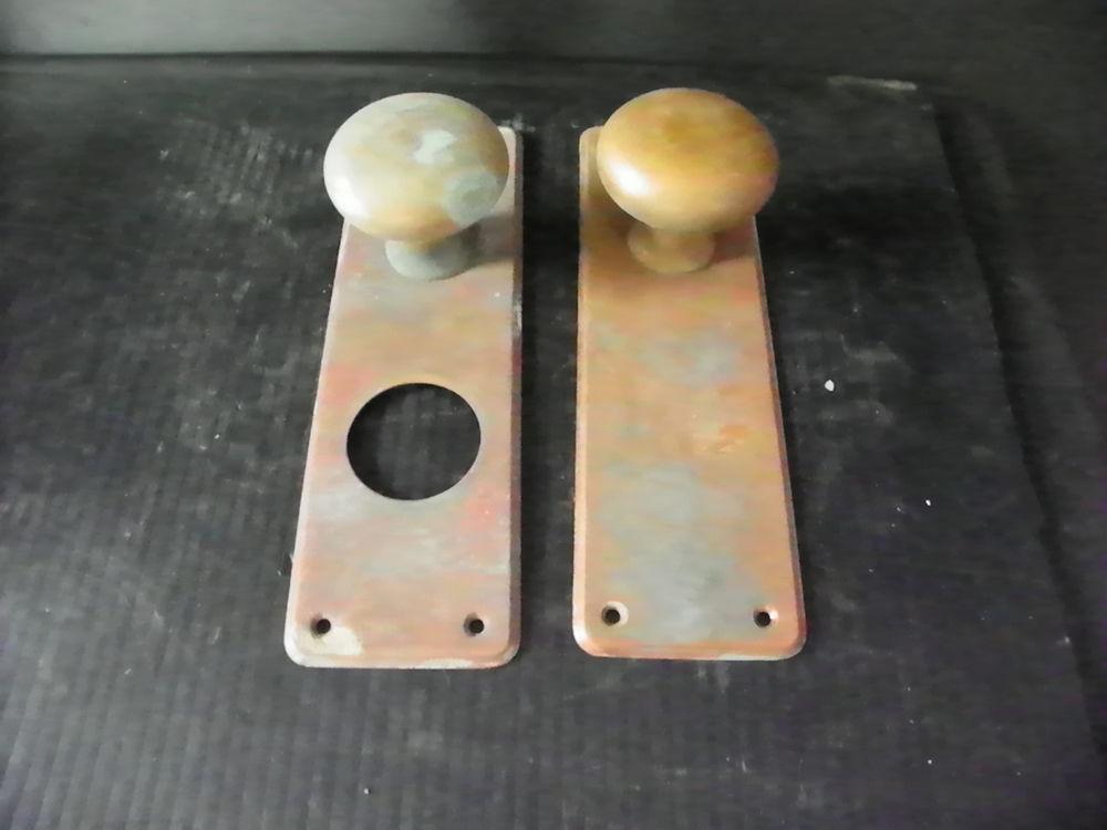 antique door knobs and plates photo - 9