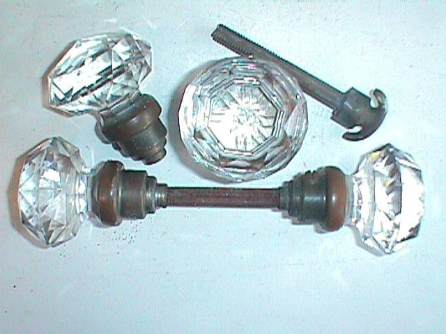 antique glass door knob photo - 20
