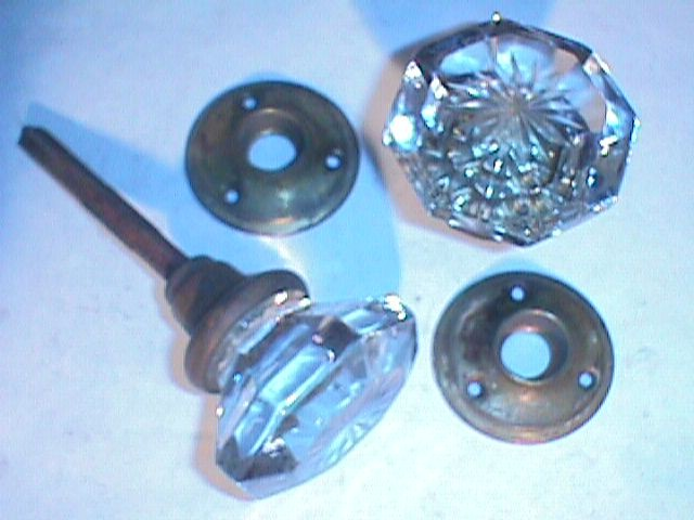 antique glass door knobs photo - 19