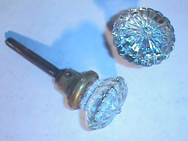 antique glass door knobs photo - 9