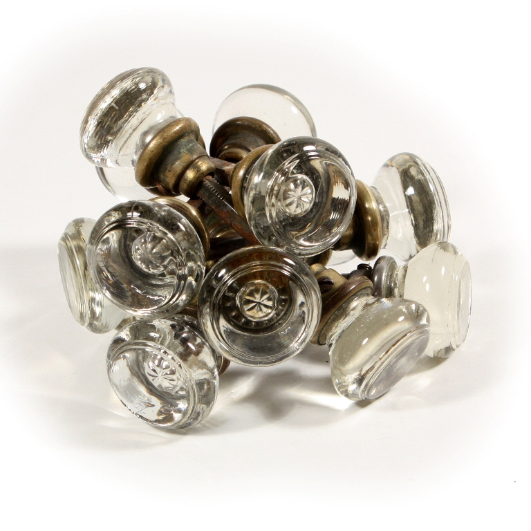 antique glass door knobs for sale photo - 1