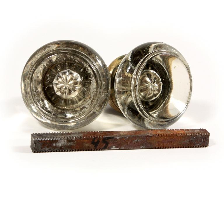 antique glass door knobs for sale photo - 4
