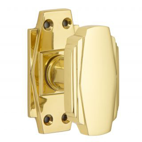 art deco door knob photo - 10