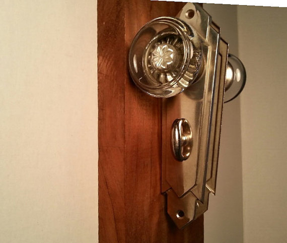 art deco door knob photo - 18