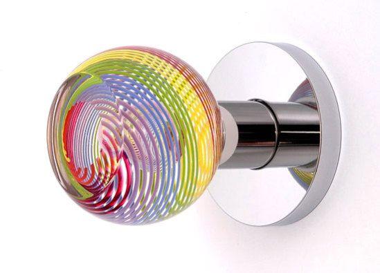 art glass door knobs photo - 9