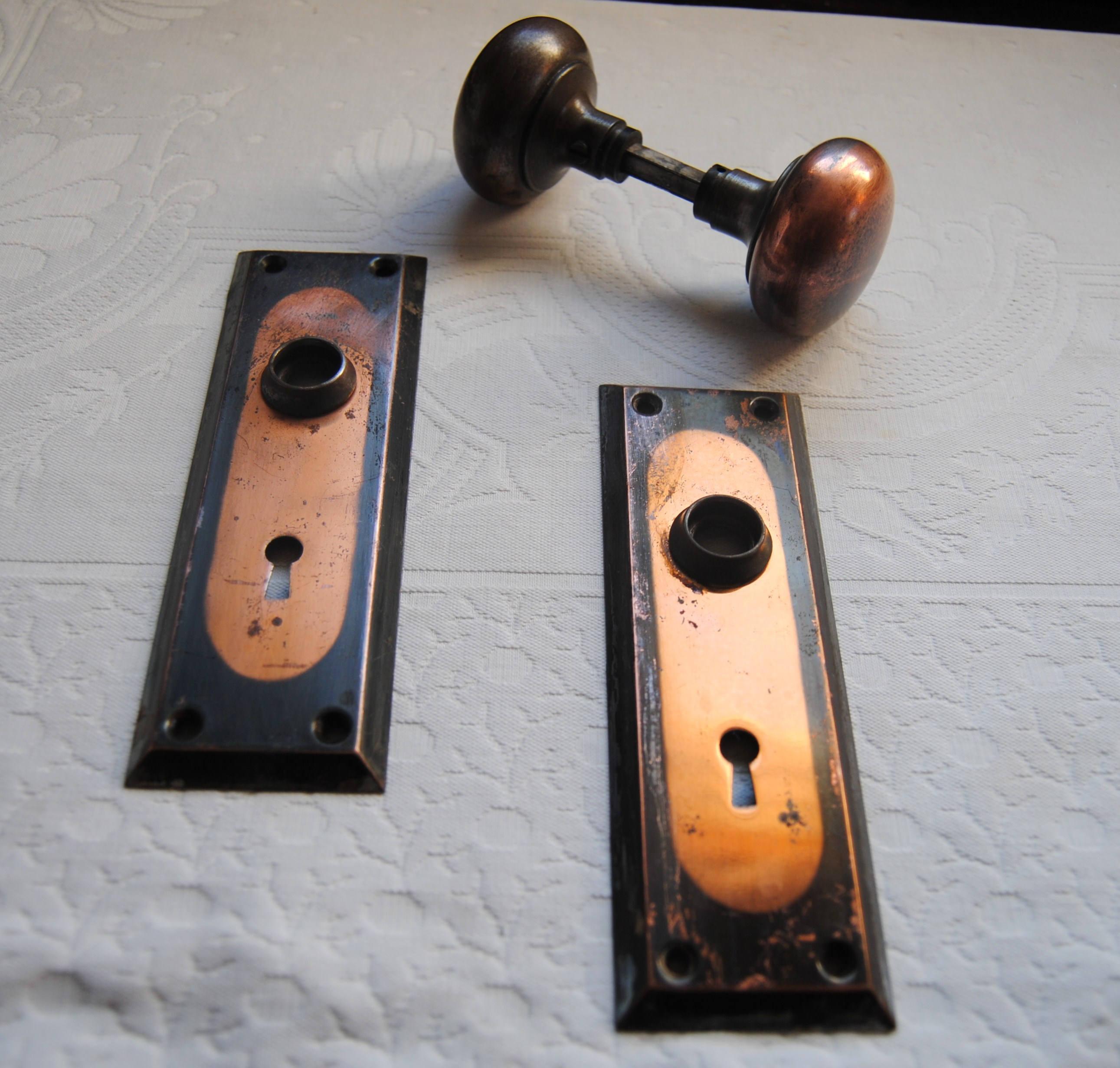 arts and crafts door knobs photo - 7