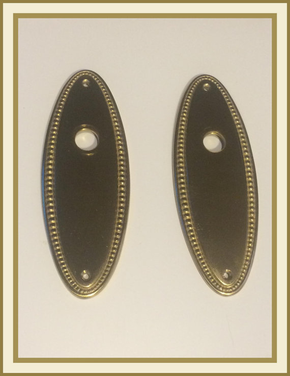 backplates for door knobs photo - 16