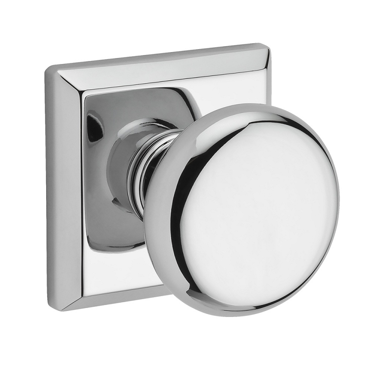 baldwin door knob installation photo - 1