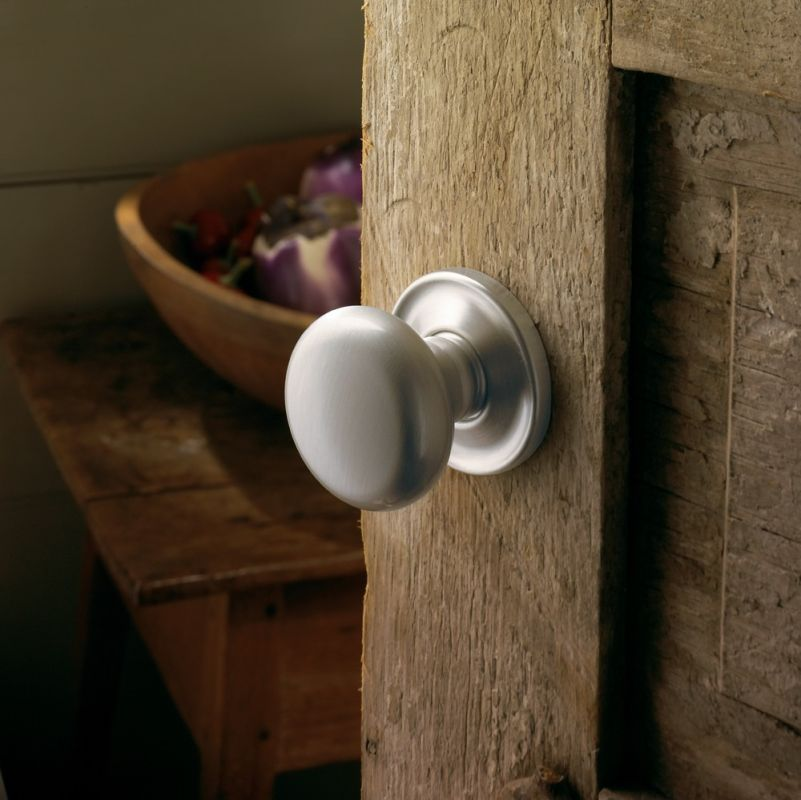 baldwin door knob installation photo - 3