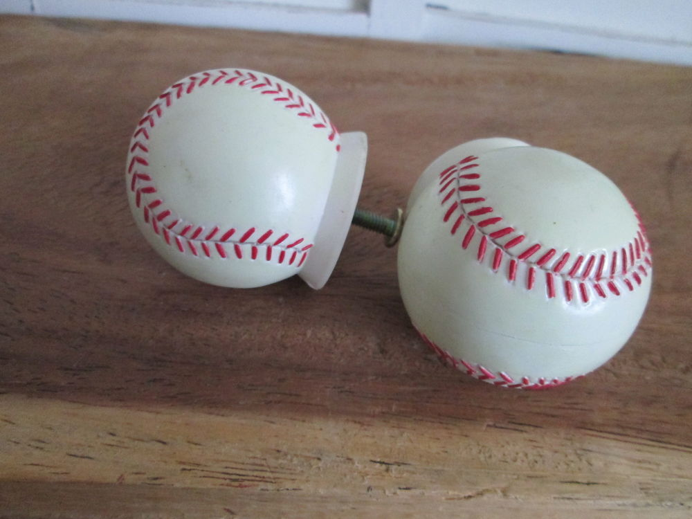 baseball door knobs photo - 2