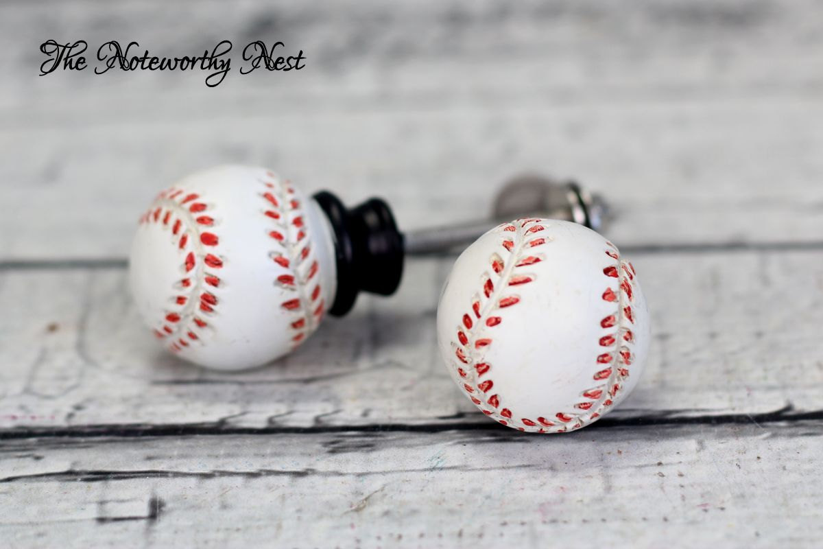 baseball door knobs photo - 4