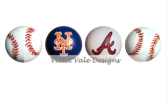 baseball door knobs photo - 5
