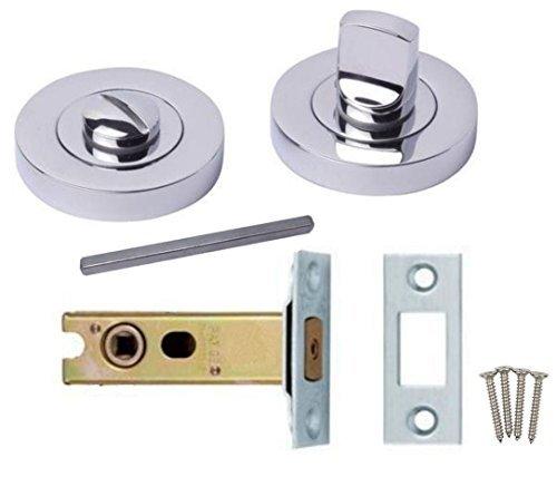 bathroom door knob with lock photo - 11