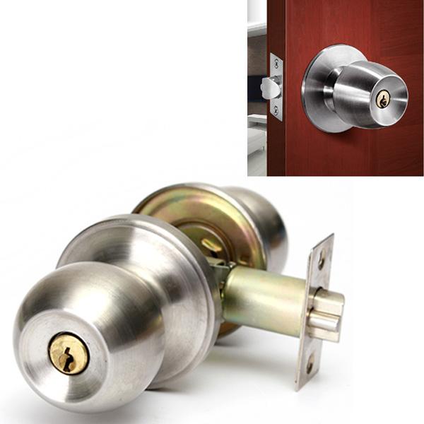 bathroom door knob with lock photo - 16