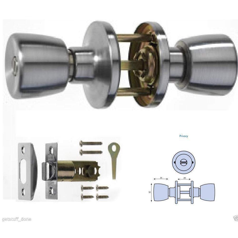 bathroom door knob with lock photo - 4
