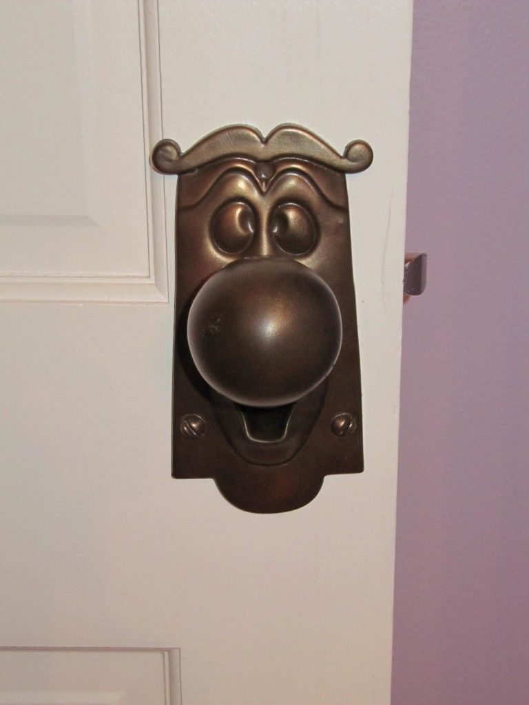 beauty and the beast door knob for sale photo - 3