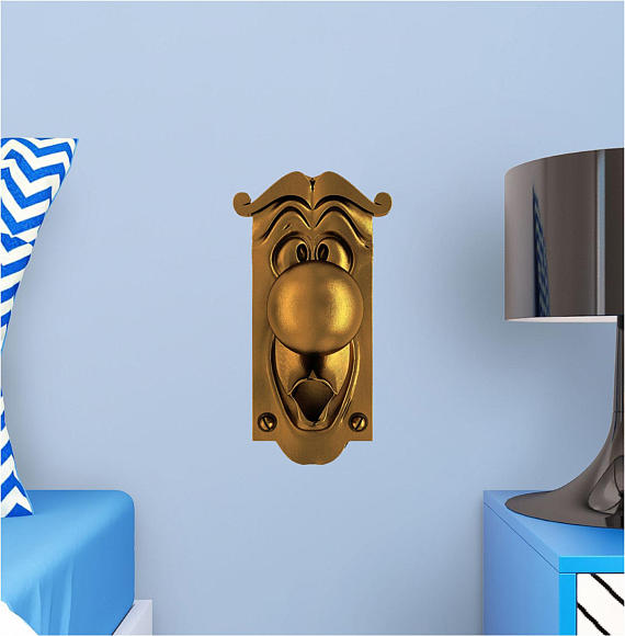 beauty and the beast door knob for sale photo - 4