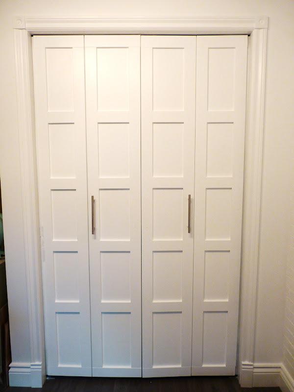 bifold door knob placement photo - 18