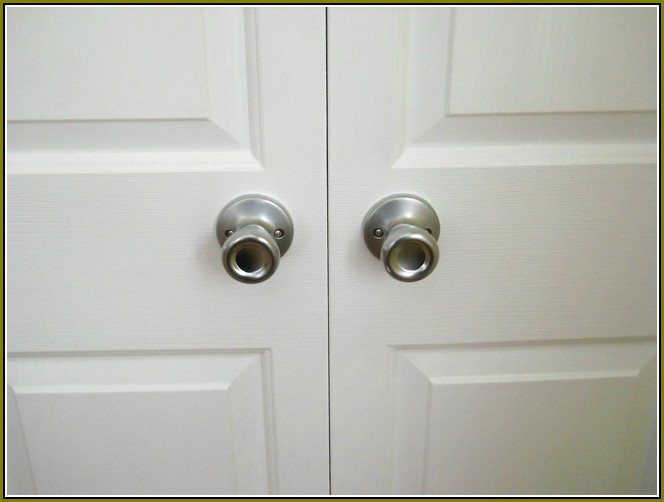 bifold door knobs photo - 3
