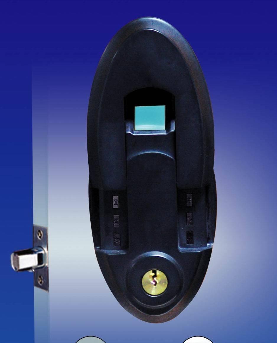 biometric door knob photo - 11