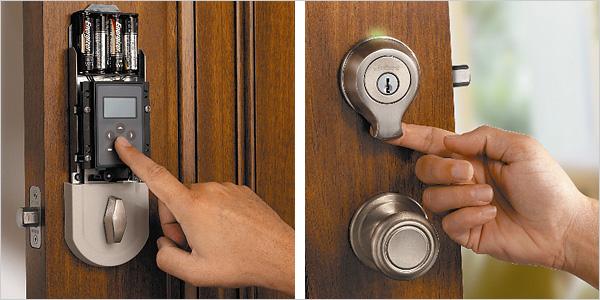 biometric door knob photo - 17