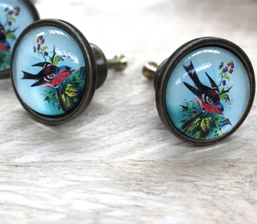 bird door knobs photo - 16