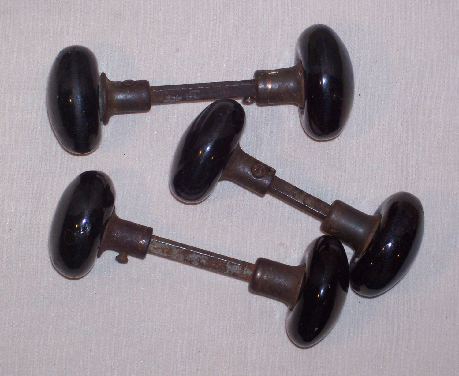 black antique door knobs photo - 4