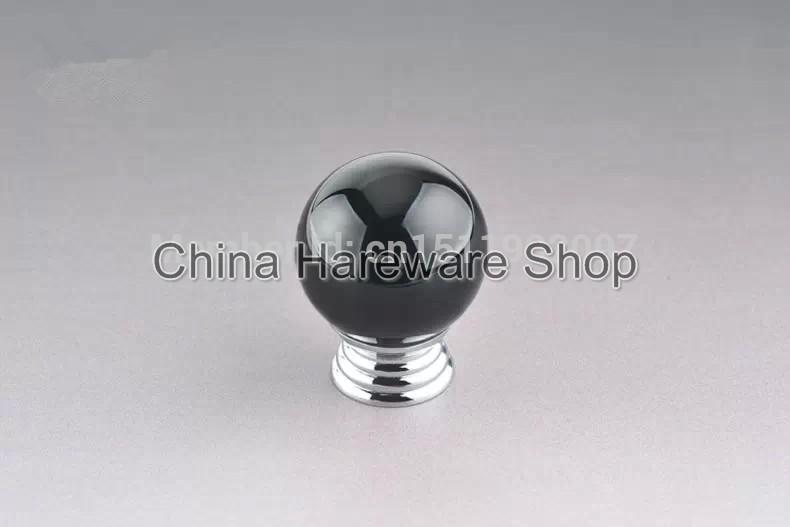 black crystal door knobs photo - 13