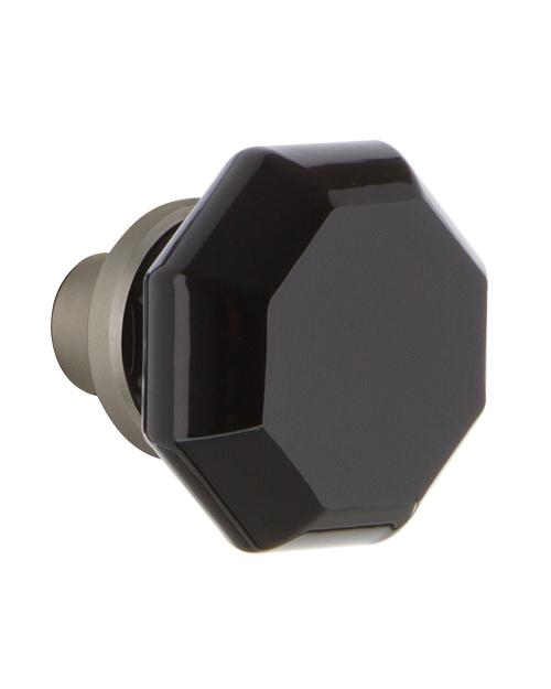 black crystal door knobs photo - 15