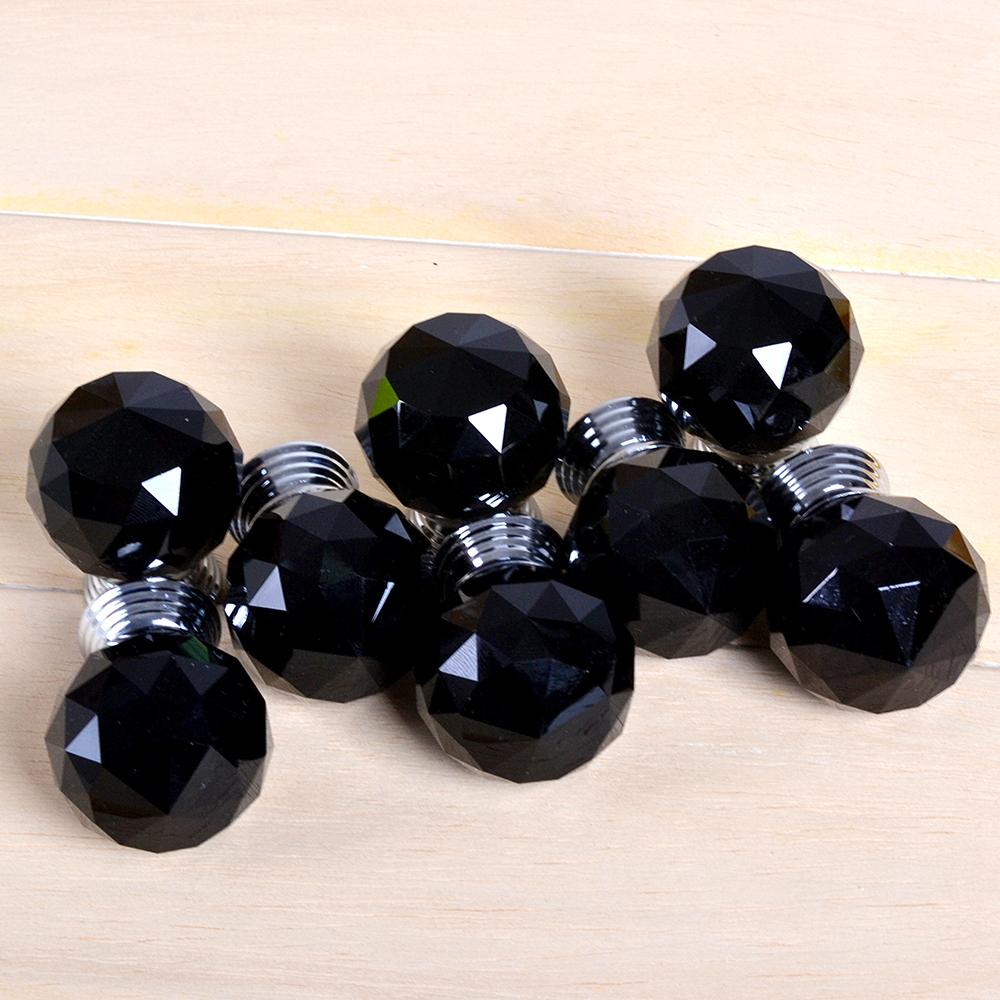 black crystal door knobs photo - 16