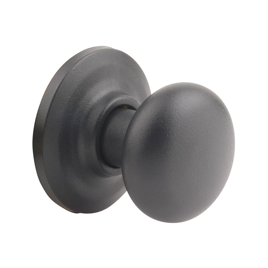 black door knob photo - 8